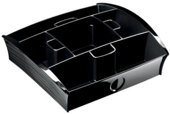 Take a break verdeelplateau ft 20 5 x 21 6 x 6 8 cm zwart for Ladenblok sloten