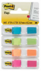 POST-IT INDEX TABS SMALL 4 KLEUREN ASSORTI TU/LG/OR/RZ