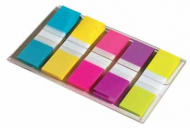 POST-IT INDEX TABS SMALL 12X44MM 5KLEUREN PAK6